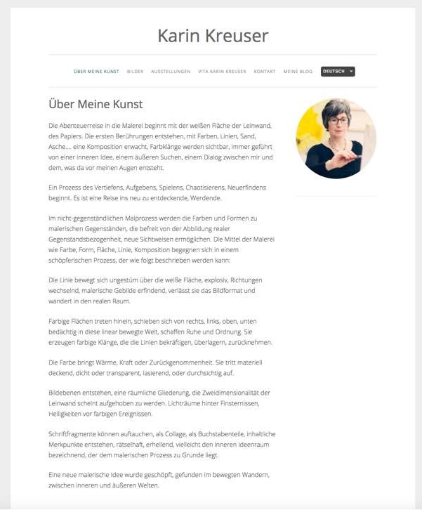 Karin Kreuzer's Website